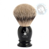 Mühle Shaving Brush Silvertip Badger Black - Webshop.syu.nl